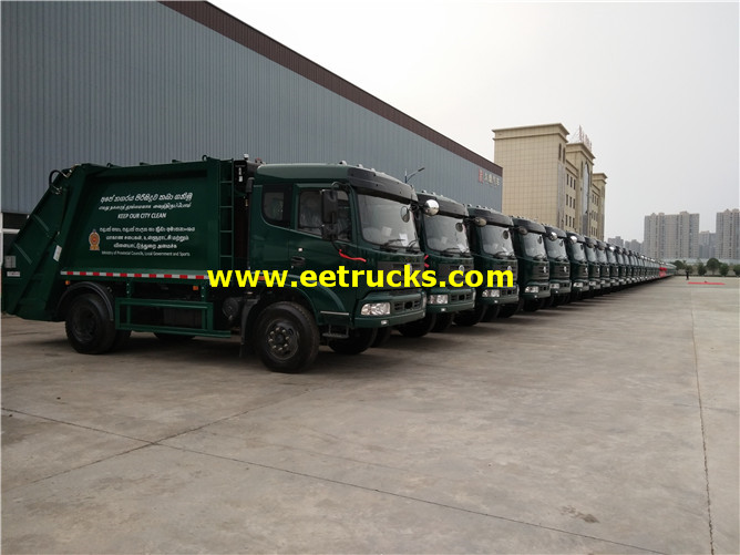 Compressed Waste Trucks