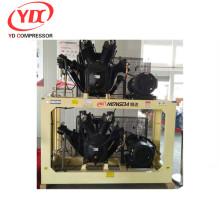 Booster de compresseur d'air de boge à haute pression 350CFM 580PSI 40HP 10m3 40bar 30kw