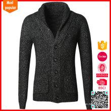 Suéter al por mayor vendedor caliente del telar jacquar de la rebeca del suéter