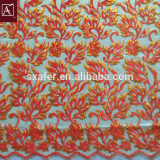 2016new Design Sequin Embroidery on mesh fabric For garment