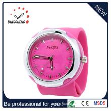 2015 Pink Fshion, High Quality Silicone Wrist Watch (DC-931)