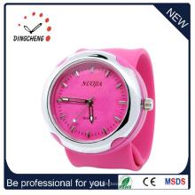 2015 rosa fshion, relógio de pulso de silicone de alta qualidade (DC-931)