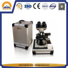 Caja de vuelo de instrumentos de equipo de aluminio grande de oro (HF-6019)