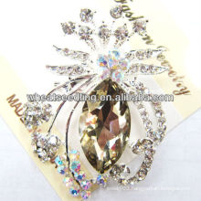 2013 Hot Sale Crystal Animal Design Big Brooches BR12