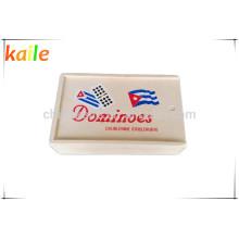 Double 9 Domino avec boîte en bois