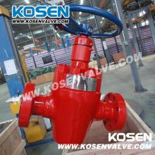 Campo equipamento API 6A válvulas de óleo