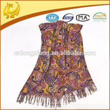 europe style and custom large pashmina shawls wool