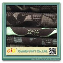 Tissu chaud de sofa de Jacquard de vente de 2015 / tissu de sofa de flocage