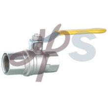 Válvula de bola de latón forjado para gas, norma EN331