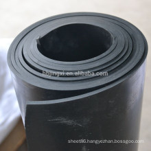 Black industrial SBR rubber sheet