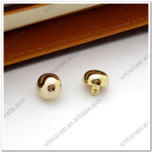Real gold regular dome rivets