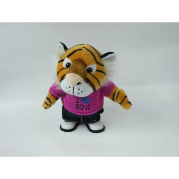 Elektrischer Tiger Plüschtier