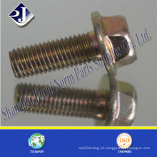 Alloy Steel Zinc Plated Flange Bolt (IFI-111)