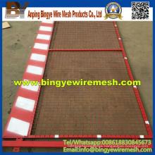 Panel temporal portable portable desmontable de la cerca de la construcción Venta caliente
