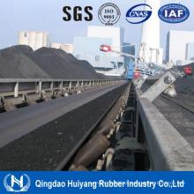 Correia de transporte de mina de carvão subterrânea