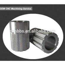 Precision Machined 6061aluminium cnc machining parts-Spline bushing connect
