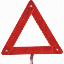 road safety car reflective warning triangle