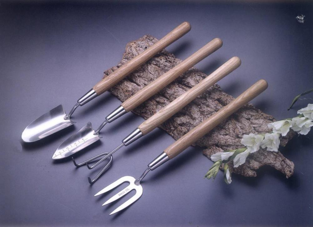 Medium Handle Stainless Steel Gardening Hand Tools