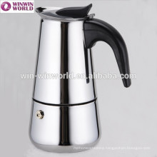 2 Cups Stainless Steel Portable Coffee Maker