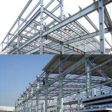Estructura de acero industrial prefabricada para taller / almacén / cobertizo