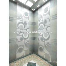 Colorful Stainless Steel Elevator Cabin