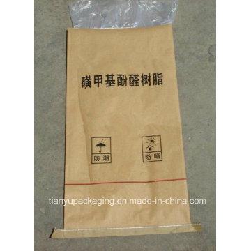 Sac en papier Kraft composite à film mince résistant à l'humidité