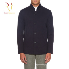 Classic Long man's casual knit coat