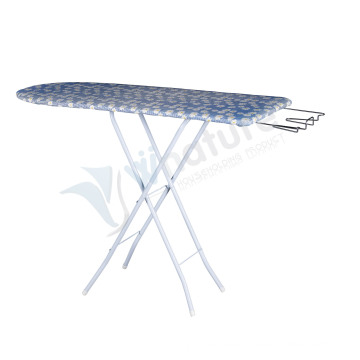 Heigh Adjustable TC Cloth Covered Floor Standing Adjustable Ironing Board Wood