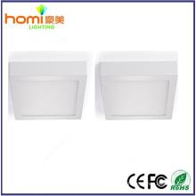 18W 80lm/w, superfície quadrado led luz de painel controlador IC CE série 2 anos de garantia