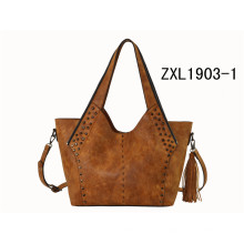 Ladies Hobo Handbag Factory Prix OEM Shoulder Handbag Special Women Sac à main PU (ZXL1903-1)