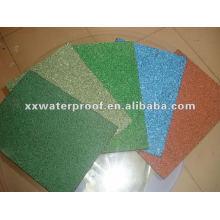SBS/APP waterproof membrane with colored sand