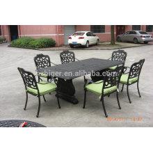 Muebles de exterior de aluminio de alta calidad