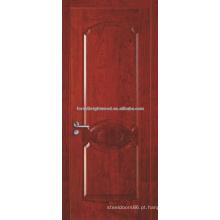 Médio Oriente grão de madeira pintada moldado porta