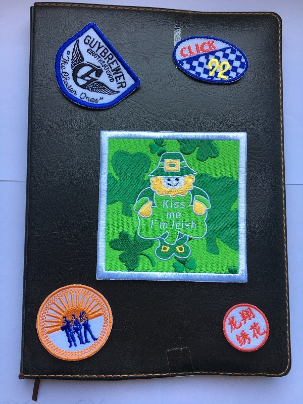 Book Embroidery Patch
