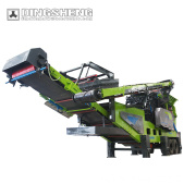 DMP Series Wheeled Impact Mobile Crushing Station for Southeast Asia