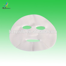 Máscara de papel facial cosmética DIY