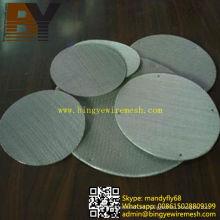 Filtro de malla de acero inoxidable sinterizado de múltiples capas