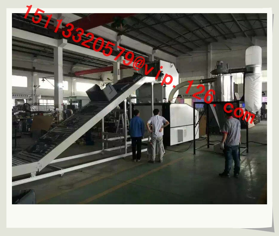 plastic crushing and auto recycling system 3b