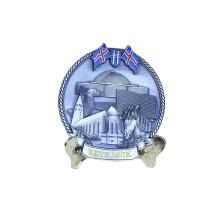 Meistverkaufte niedrigster Preis Messingplatte Vatertag Souvenir