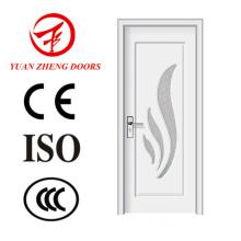 Nova porta de entrada de porta de madeira de madeira de design de madeira