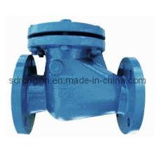 Válvula de retención DIN3202 F6 de hierro fundido