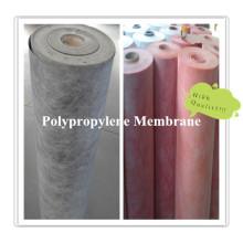 Membrana impermeável de PP e de PE do polímero para o sistema de impermeabilização da construção