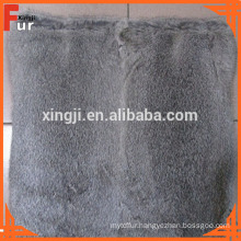 Top Quality Natural Grey Rabbit Fur Cushion
