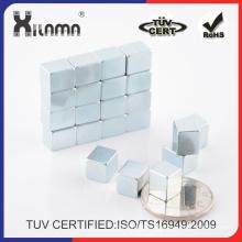 Strong Neodymuim Cube Magnet N35 Permanent Motor Magnet