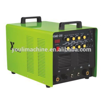 Inverter ac dc pulse tig/mma welding machine tig