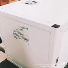A cremalheira impermeável do armário do servidor dos dados da rede da montagem DDF da parede da TI 6U com porta de vidro