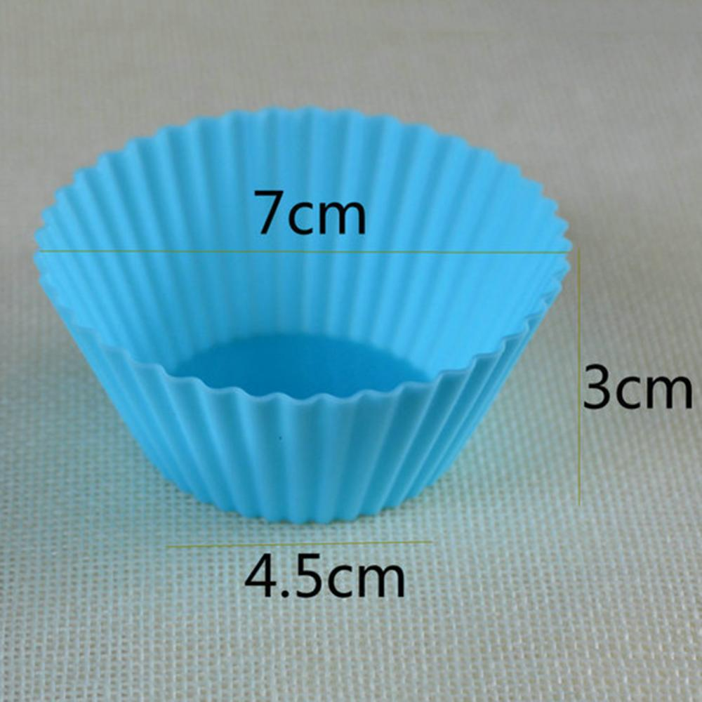 Muffin Cake Molds Silicone Liners