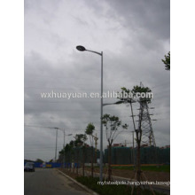 Hot dip galvanised light standard pole