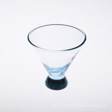 Großhändler Hellblaues Weinglas