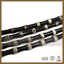 De Buena Calidad Sierra de alambre de diamante de precisión para cantera de granito